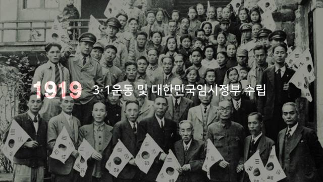 [홍보영상]3. 1운동 및 대한민국임시정부 수립 100주년 홍보영상 사진
